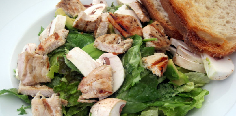Grilled Turkey Salad With Buttermilk Dressing