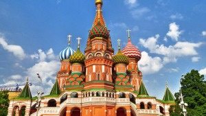 Saint Basil's Cathedral, Moscow Domes