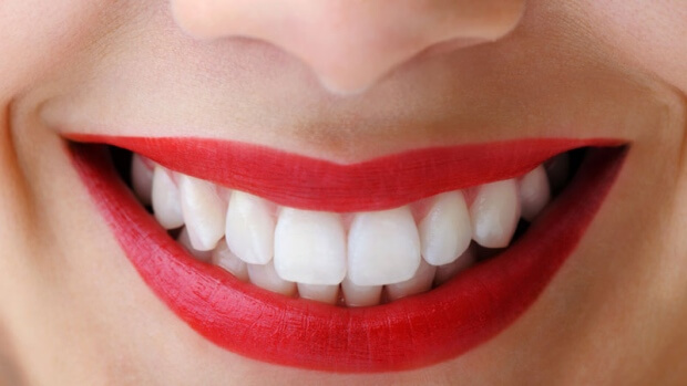 The right shade of lipstick can make your teeth look whiter, as well as complement your skin tone perfectly.