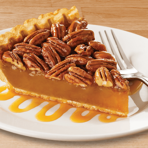 Pecan sultana and butterscotch pie is stunningly delicious dessert!
