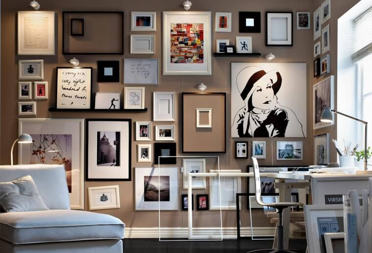 displaying artworks to imptove your home
