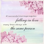 Consider making your wedding card messages as personal as possible.