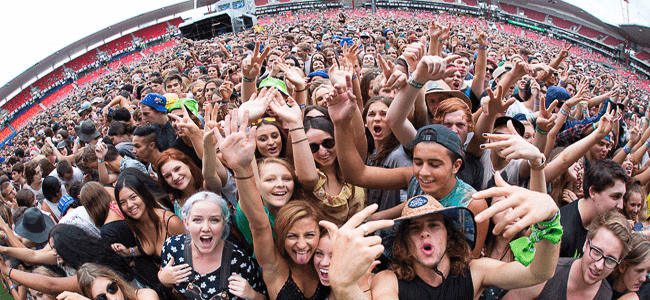 Big Day out is also one of the biggest music festivals in Australia.