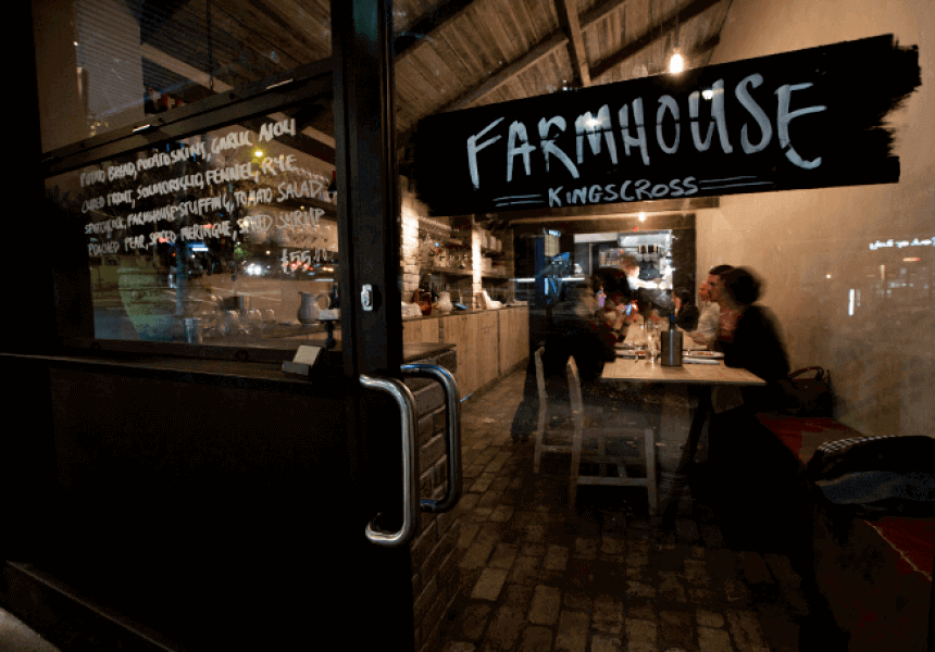 Farmhouse King Cross is still one of the top cheapest restaurants in Australia