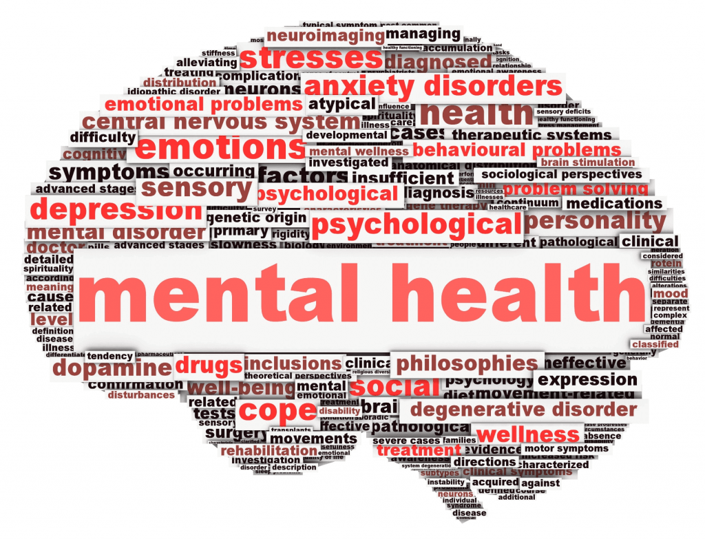 health insurances are also including mental health services