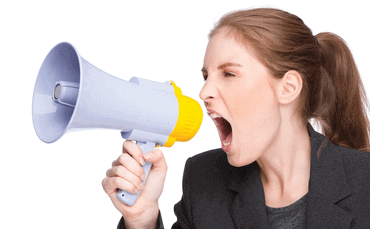 nobody wants to hear loud voices shouting in a hotel