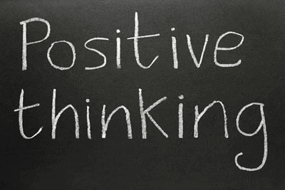 You should really have a positive mindset no matter what.