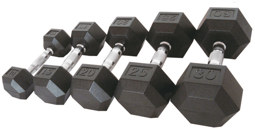 If you are a guy, lifting dumbbells is a great way to gain lean muscles