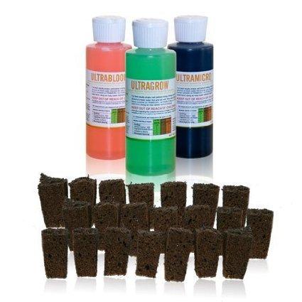 Use Ultragrow Liquid Nutrients by UltraGrow