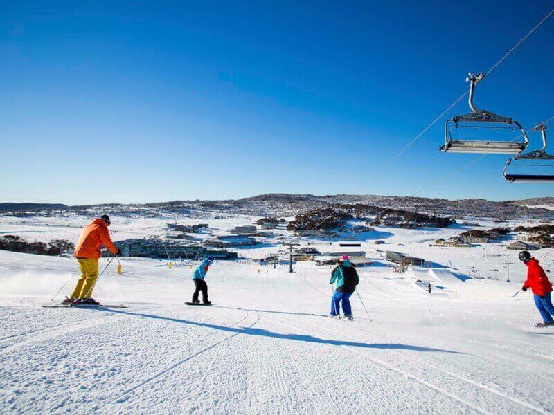 Out in the Snowy Mountains region of New South Wales some of the most beautiful ski fields in Australia.