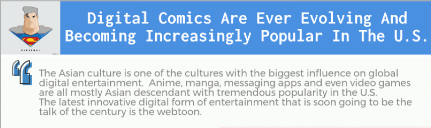 Digital comics have come a long way and will definitely improve even more over time