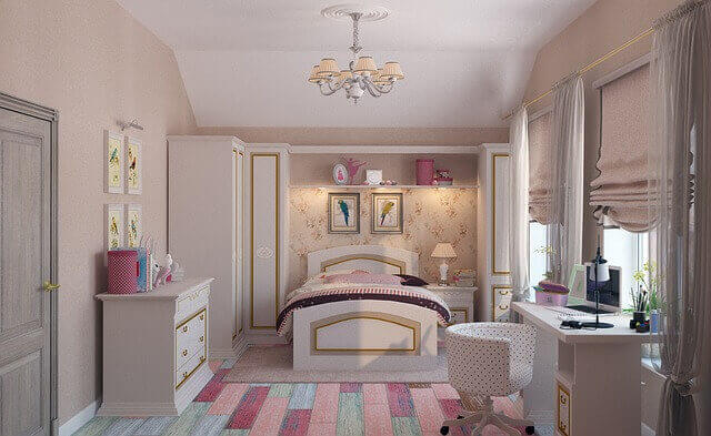 there are six tips to decorate kid's bedroom easily with more fun
