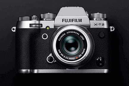 Fuji XT-2 is one of the ideal cameras for aspiring photographers especially