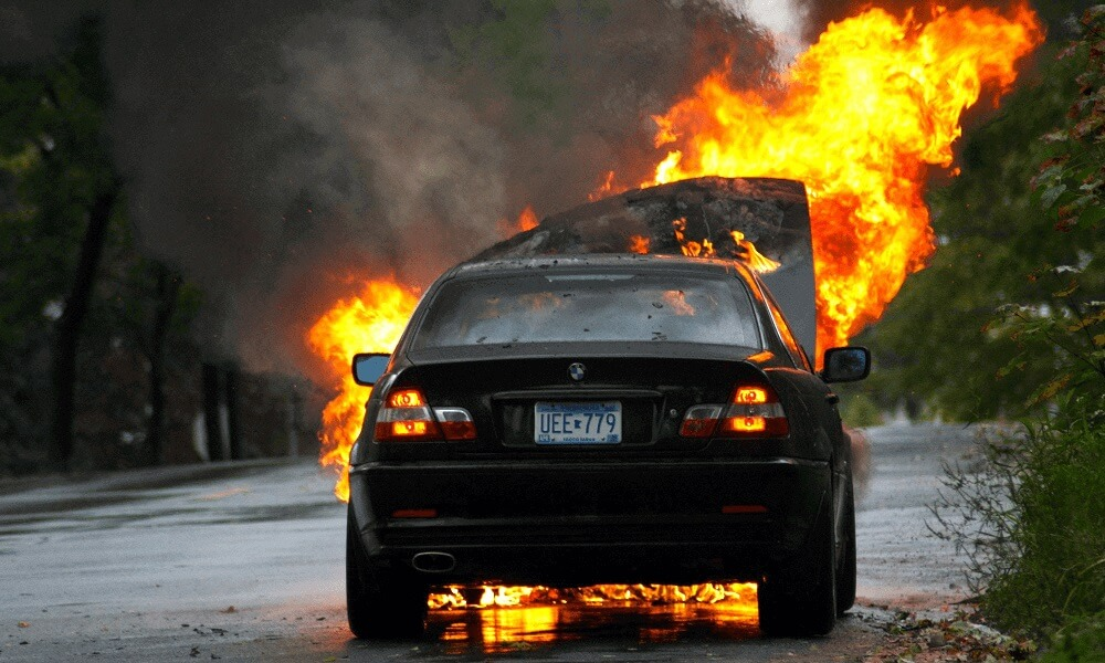 if your car has only went through minor fire damage, some parts of your car may be fixed