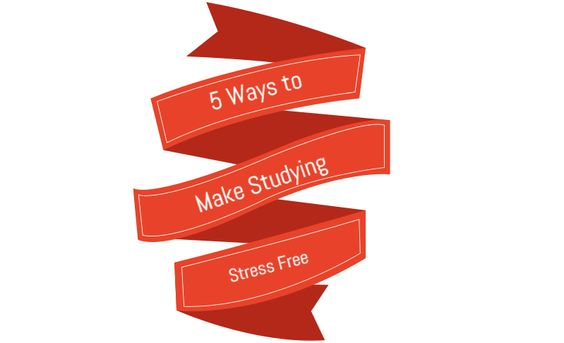The effective strategies to make studying stress free that you can set