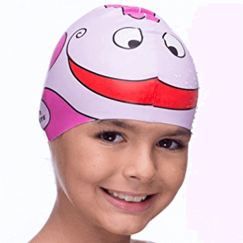 It's also neat to wear a swim cap