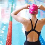 One of the most famous swimming gears is a swim cap