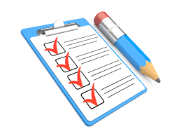 It is important for you to create a checklist