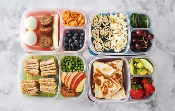Start with making your lunches in advance and go from there.