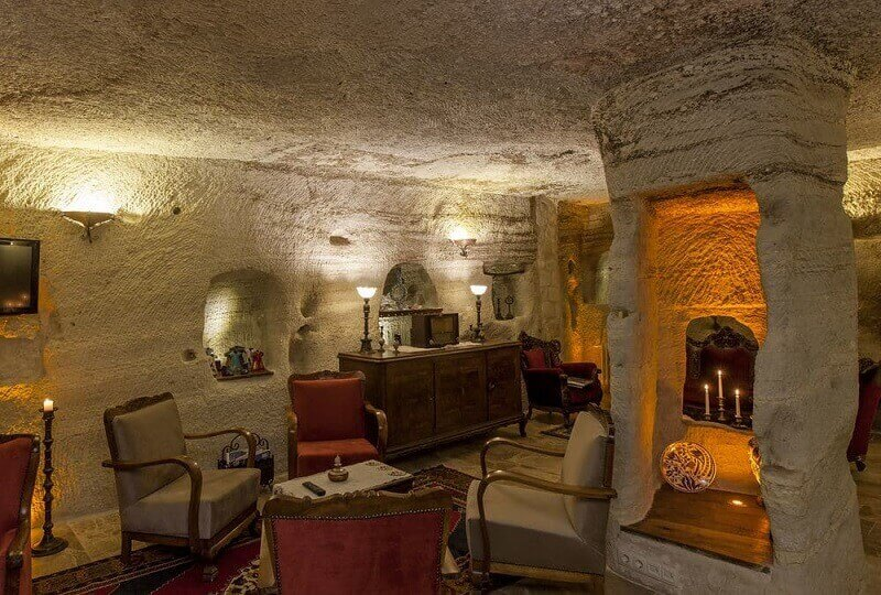 Mithra Cave Hotel is definitely one of the best glamorous hotels in Europe!