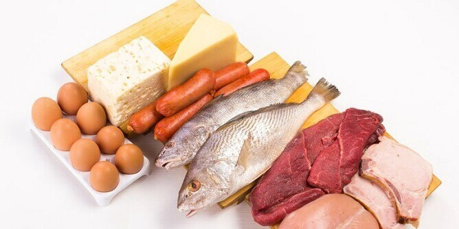 Protein is one of the things you need to gain muscle