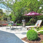 any backyard can be improved in numerous ways to create a space that spending time is a pleasure