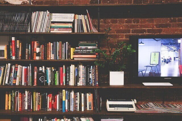 A shelf is a cheap home improvement idea that helps you add storage space