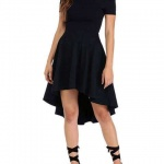 Elegant Off Shoulder Short Sleeve Party Dresses under 25 dollars