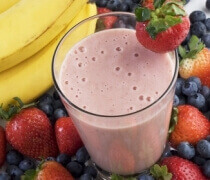Healthy fruit smoothies can be a tremendous elixir