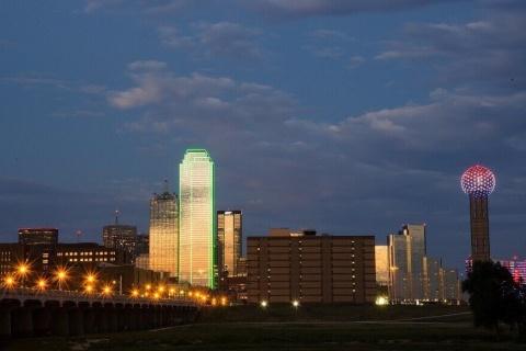 Dallas, TX cityscape.