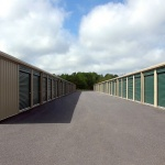 A storage warehouse where you can find climate-controlled storage.