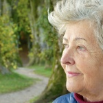 A woman thinking about moving in Miami Beach after retirement.