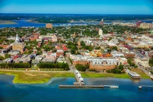 A view of Charleston.