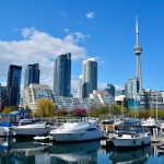 A wonderful Toronto skyline you can expect to see when living on the lake Ontario.