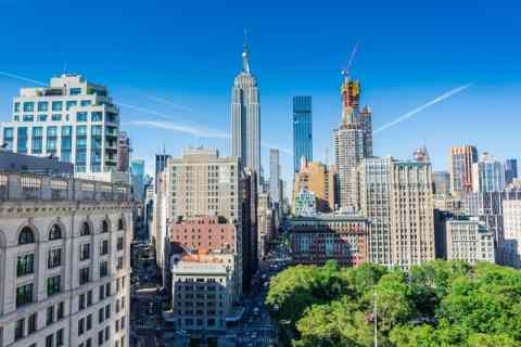 Manhattan view.