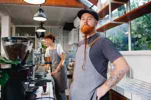 A cafe in one of the Washington State cities that hipster culture fans will love.