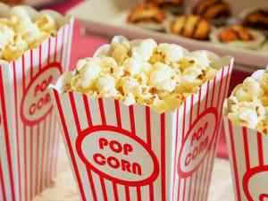 Popcorn you can enjoy during one of the outdoor activities in Fort Lee to try with your kids