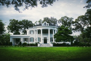 a plantation-style home